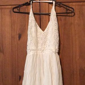 Forever 21 white maxi dress